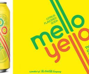 可口可乐Mello Yello新包装设计
