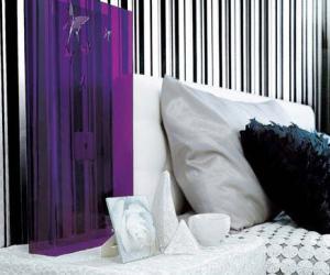 简约风尚混搭设计欣赏:家居黑白印象