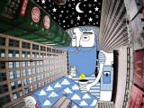 奇思妙想:在楼宇之间的天空画画