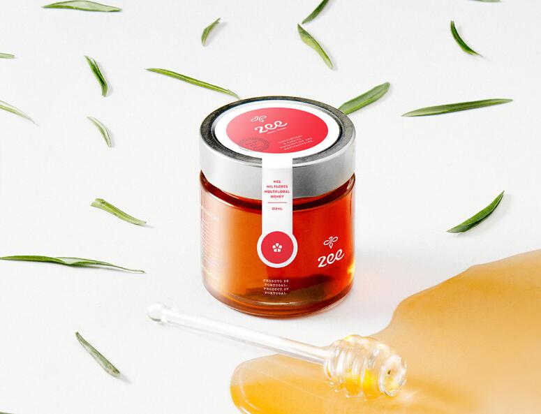 葡萄牙Zee蜂蜜产品包装设计001
