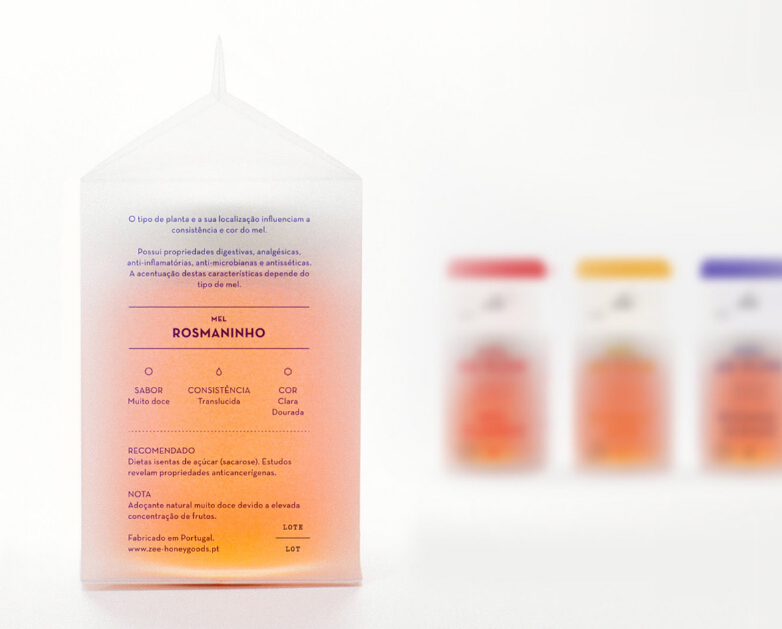 葡萄牙Zee蜂蜜产品包装设计003