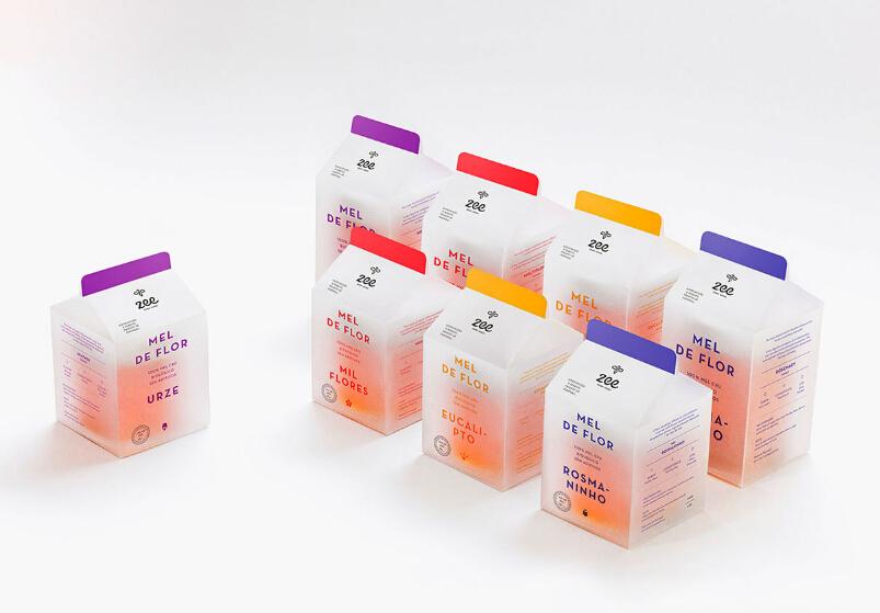 葡萄牙Zee蜂蜜产品包装设计004
