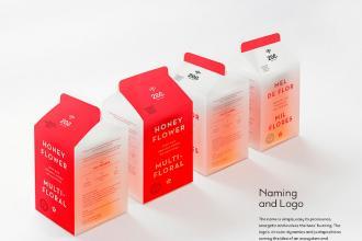包装欣赏:葡萄牙Zee蜂蜜产品包装设计