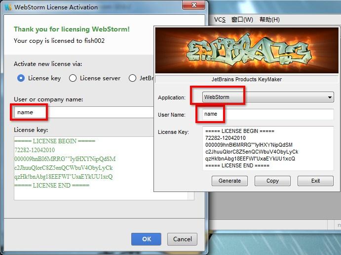 WebStorm10.0.3、WebStorm10.0.4中文汉化包+破解