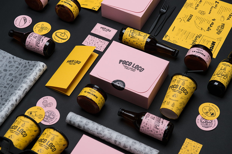 瑞典食品品牌Poco Loco包装设计