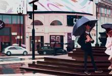 英国插画师Slawek Fedorczuk伦敦街景插画欣赏