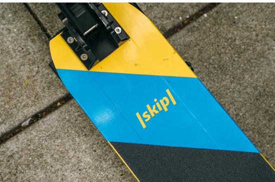 Skip的滑板车甲板