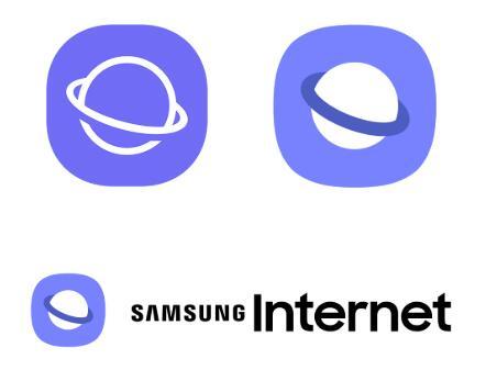 三星浏览器Samsung Internet 更换新logo