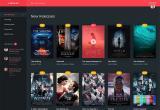 电影和电视网站概念设计界面欣赏