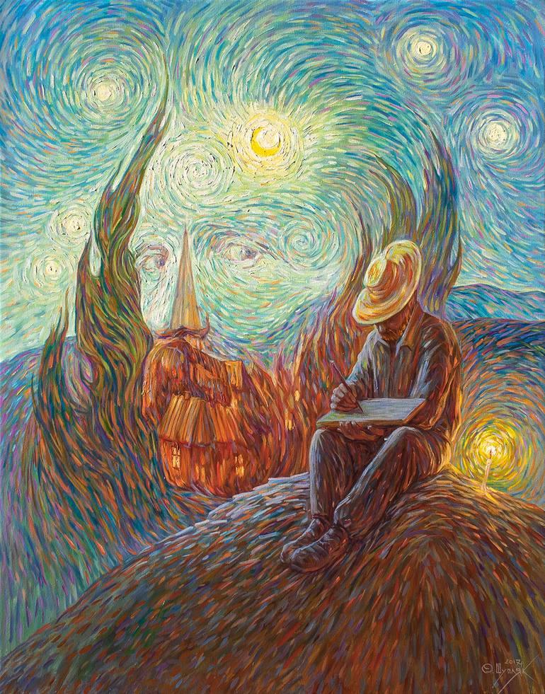 乌克兰Oleg Shupliak双重视错觉绘画艺术