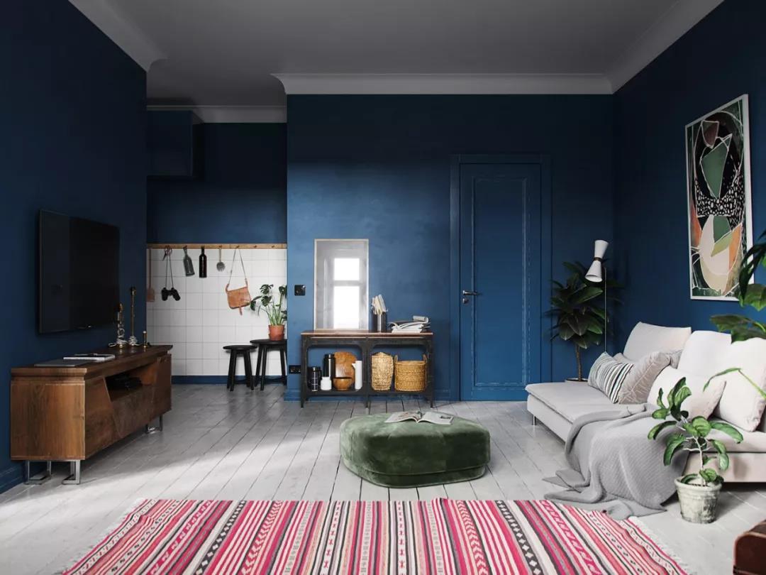 一览全球用「2020 Pantone 年度色:经典蓝」带来的各类平静创作!