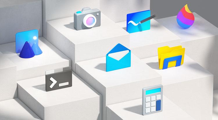 微软重新设计了超过100个其应用程序图标