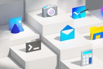 微软重新设计的100个其应用程序图标欣赏