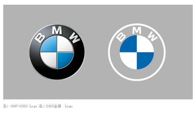 """宝马换新 logo了!全新品牌形象采用""""透明""""设计,颠覆了23年的经典"""